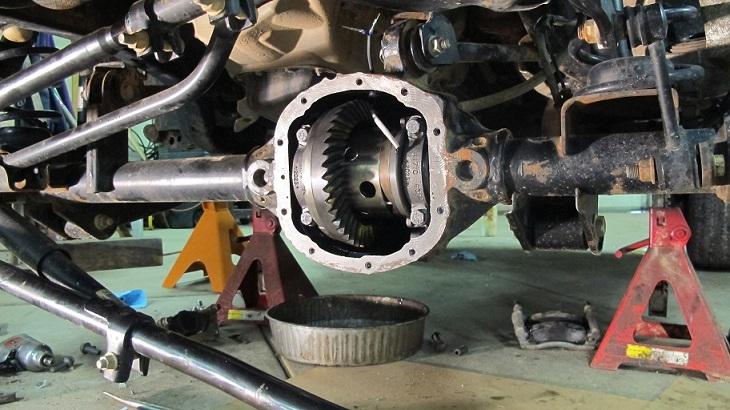 Installing Gears In My 2012 Jk